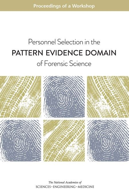 pattern of evidence online personnel selection in the pattern evidence domain of