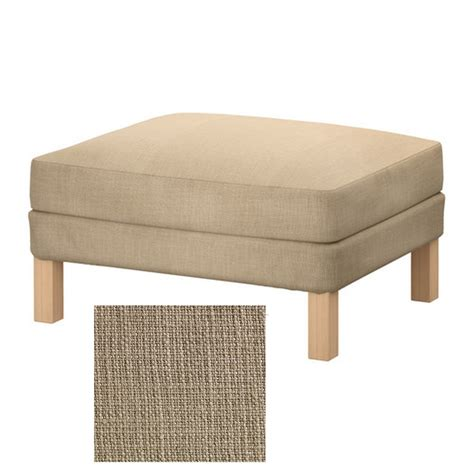 ikea ottoman cover ikea karlstad footstool ottoman slipcover cover lindo