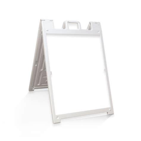 board a tbg print sandwich board deluxe a frame white