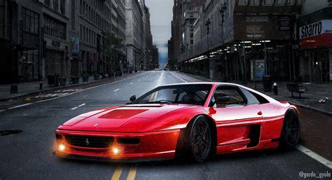 Ferrari Ps by Ferrari F355 Photoshop