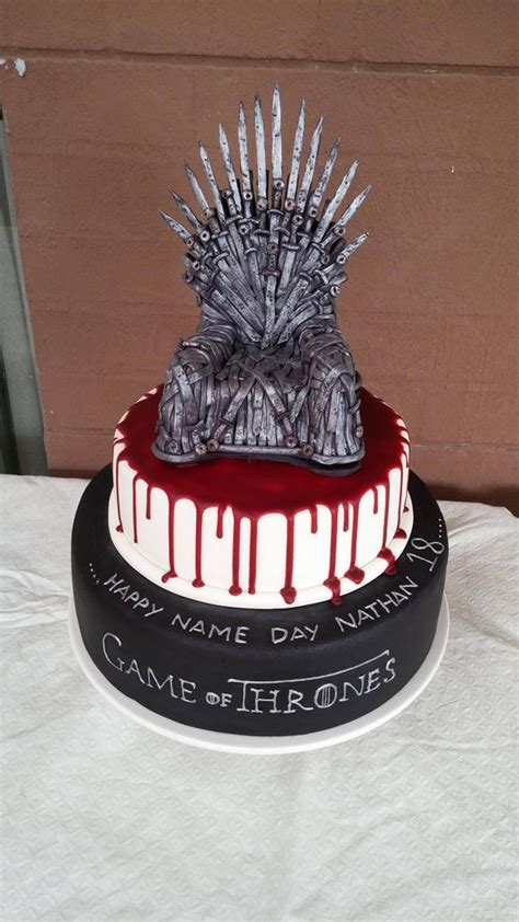 13 epic game thrones cakes