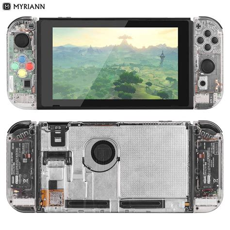 aliexpress nintendo switch transparent nintendo switch case is a nod to the 90s