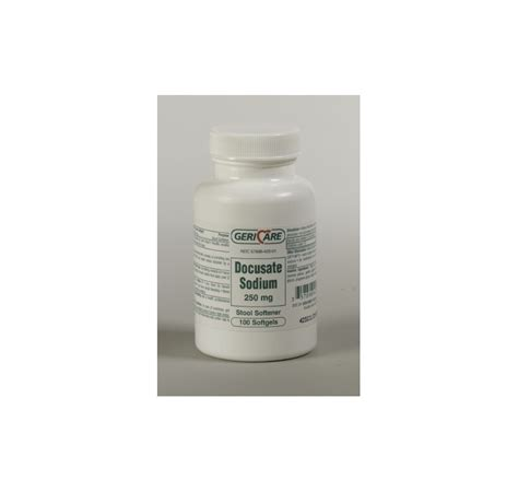 Term Use Of Stool Softeners by Lax Docusate Sod250mg100s Bt 100 Mck Brand
