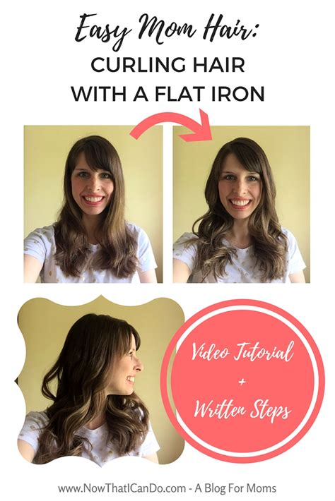 handouts on how to braid hair easy mom hair curling hair with a flat iron video