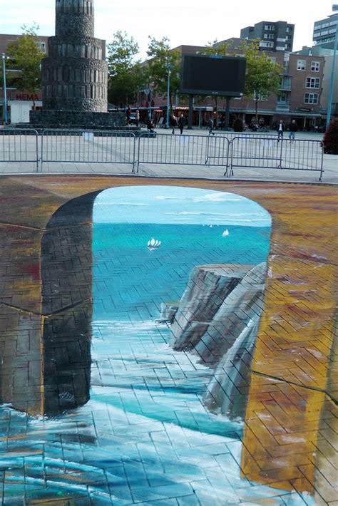 street art  gregor wosik street art illusions
