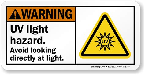 what lights are a safety hazard on the christmas tree uv safety signs uv warning signs mysafetysign