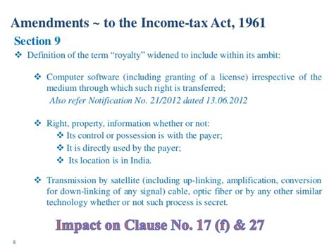 section 9 of income tax dombivili tax audit