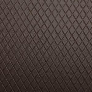Black White Upholstery Fabric Diamond Stitch Embossed Padded Luxury Camper Car