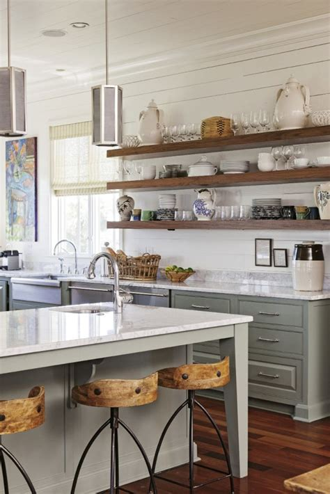 17 best ideas about open kitchen shelving on pinterest
