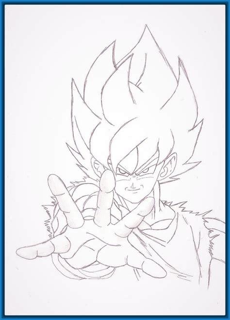 imagenes a lapiz faciles de goku dibujos a lapiz de dragon ball z faciles archivos
