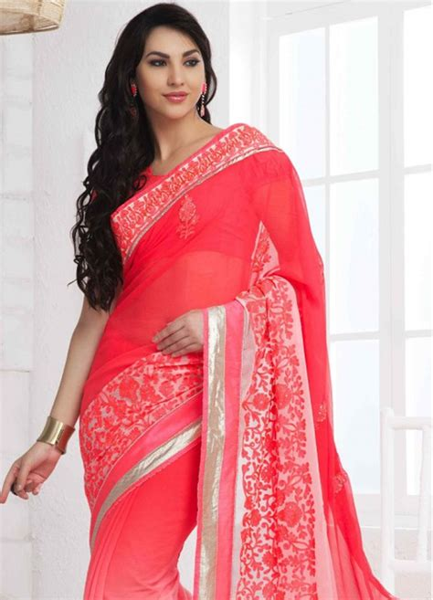 sari draping styles to look slim