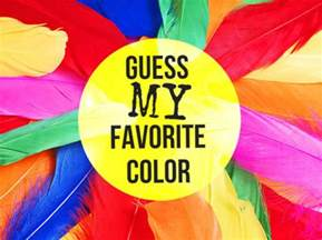 can we guess your favorite color playbuzz