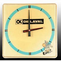 Electric Lava L by Plastic De Laval Light Up Electric Clock