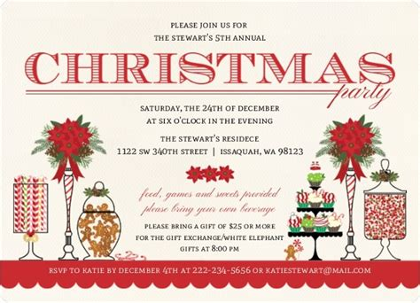 christmas invite ryhmes invitation wording from purpletrail