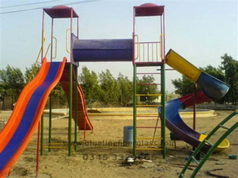 school swing sets blue line fiberglass playground equipments swing slides