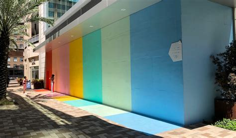 color wall sugar cloth color wall in downtown 365 houston