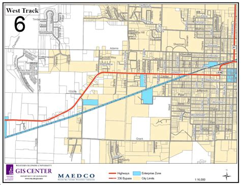 Labor Code Section 510 by Macomb Bushnell Enterprise Zone Pdf Maps Macomb Area
