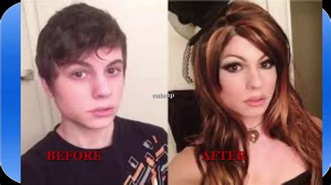 man to woman makeover male to female makeup before and after www pixshark com