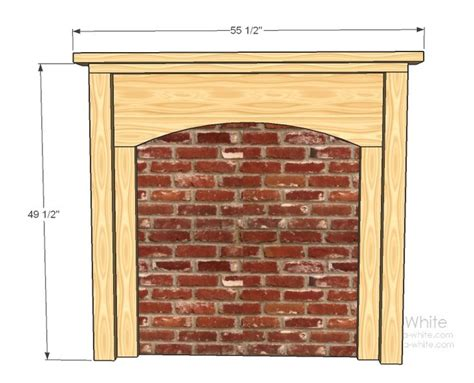 build faux fireplace diy renovation projects