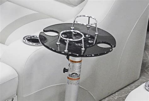 round pontoon boat table chairs and tables tahoe pontoon boats
