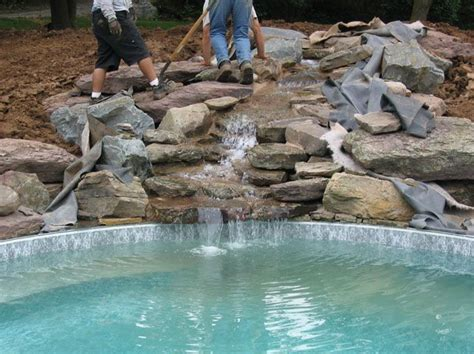 inground pool with waterfall 5 inground pool waterfalls idea estateregional com