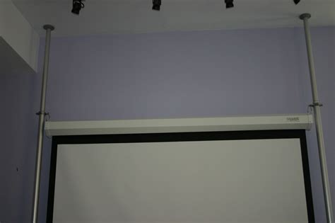 hang screen without wall drilling avs forum