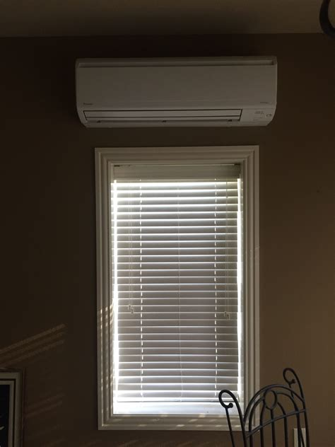ductless mini split daikin daikin ductless system installation morris heat and air