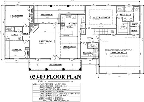 architect floor plan the cottages house plans flanagan construction chief architect 10 04a 031 07 floor plan 1layout