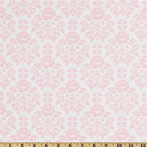 pink damask upholstery fabric pimatex basics damask baby pink white discount designer