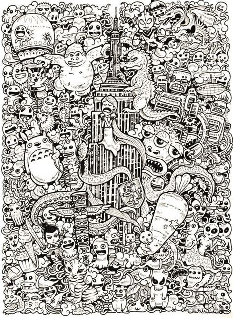 amazing kerby rosanes doodles adult coloring