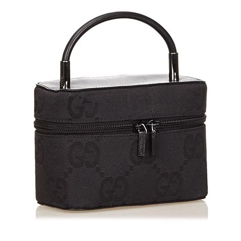 Vanity Bags Shopping by Gucci Gg Canvas Vanity Bag 74 Retail