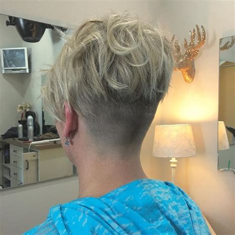 pixie cut with shaved nape what do you think of this curly undercut pixie