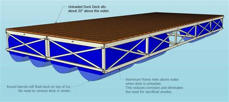 boat dock installation near me floating deck plans home design ideas