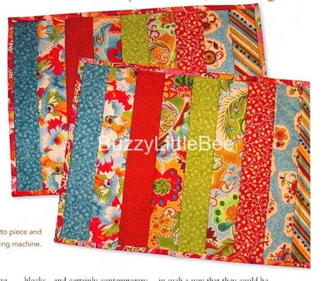 Quilting Placemat Patterns by Quilt Pattern Longarm Placemats Learn To Quilt With Longarm Machines Ebay