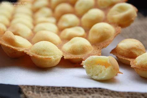 Egg Waffle by Hearts In My Oven Hong Kong Style Egg Waffles