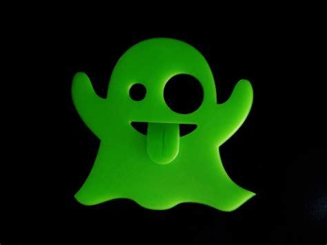emoji ghost ghost emoji by rubybot thingiverse