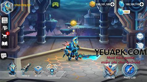 top game mod cho android heroes infinity mod v 224 ng kim cương game anh h 249 ng v 244 cực