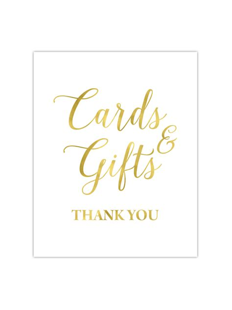 Cards And Gifts - cards and gifts sign chicfetti