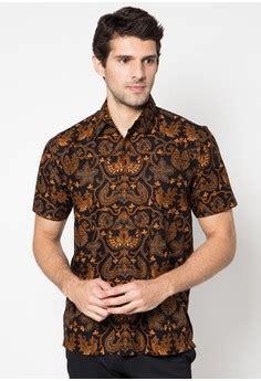 Kemeja Pendek Indonesia 15 kemeja batik pria lengan pendek terkini model baju