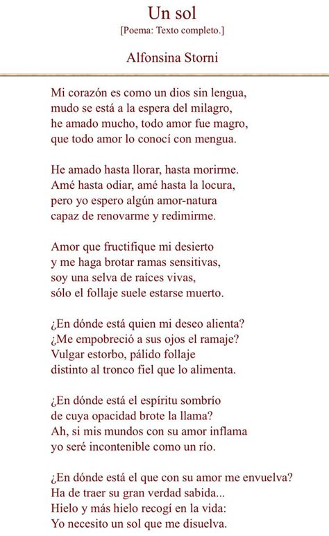 alfonsina storni biography in spanish 46 best ideas about poemas on pinterest te amo tes