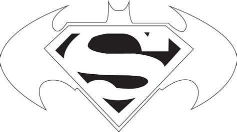 superman logo template cliparts co