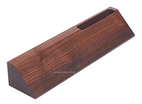 Wedges G01 name plate wedges card holder walnut 2 quot x 10 quot china