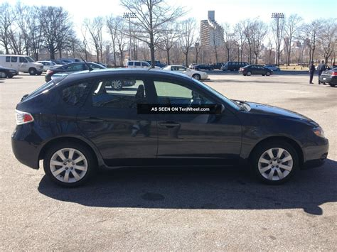 subaru hatchback 2009 2009 subaru impreza 2 5l 4cylinder all wheel drive hatchback