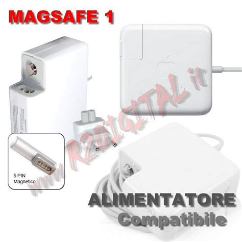 alimentatore apple macbook alimentatore apple macbook magsafe1 60w 16 5v 3 65a