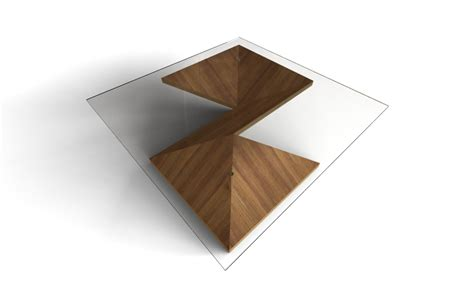 Origami Table - modern coffee table origami