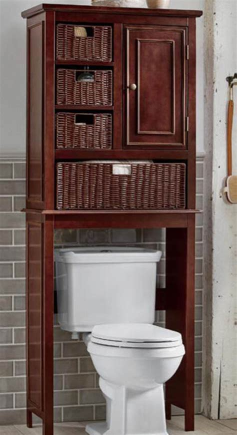 wicker space saver bathroom home decorating warm color schemes spice