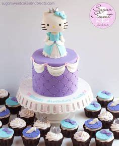 Hello Sanrio Original Versi Princess Cinderella hello ballet cake by shell at spotty cake tin hello cakes cupcakes and cake