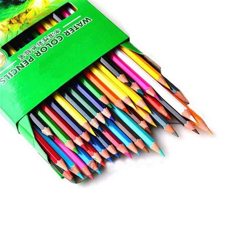 water soluble colored pencils 4586 24 color water soluble colored pencils multicolor