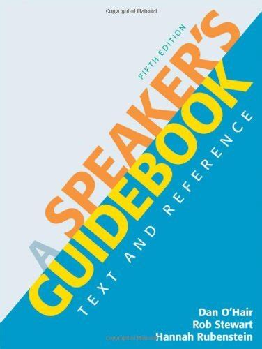 a speaker s guidebook text and reference books a speaker s guidebook text and reference