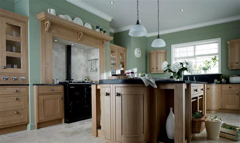 Kitchen Island Worktops Uk by Pws Second Nature Milton Oak Kitchen Republic